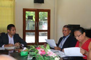Enkontru KFP ho Ministru Obras Públikas